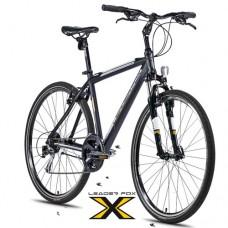 28 Zoll Alu  Daft Black Gold Crossbike - 24 Shimano Alivio - LockOut
