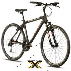 28 Zoll Alu  Daft Black Orange  Crossbike - 24 Shimano Alivio - LockOut