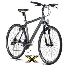 28 Zoll Alu  Daft Grey Matt Crossbike - 24 Shimano Alivio - LockOut