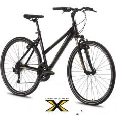 28 Zoll Alu  Daft Lady Black Crossbike - 24 Shimano Alivio -LockOut