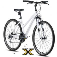 28 Zoll Alu  Daft Lady White  Crossbike - 24 Shimano Alivio -LockOut