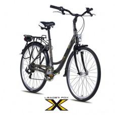 26 Zoll Alu  Domesta GREY Citybike - 6 Shimano  Gänge