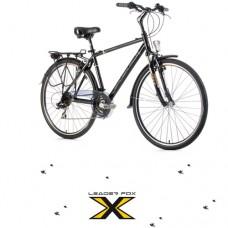 28 Zoll Alu  Ferrara Black Trekkingbike - 21 Shimano