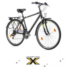 28 Zoll Alu  Ferrara Grey Matt Trekkingbike - 21 Shimano