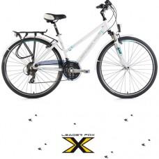 28 Zoll Alu  Ferrara Lady White Trekkingbike - 21 Shimano