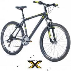 26 Zoll Alu MAXIM Black Matt Mountainbike  Federgabel