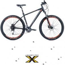 """27,5""""  Alu ZERO Black Orange  Mountainbike - 24 Deore Gang - Hydraulische Scheibenbremse - LockOut"""